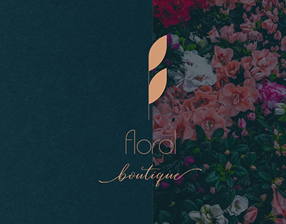 Florist | Logo, gift box and business card design.