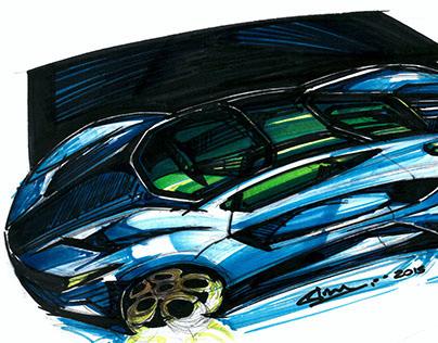 Car Sketches 2