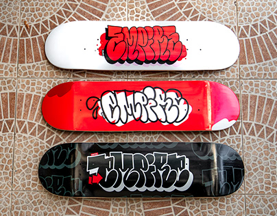 Throw'Up Skateboards collection