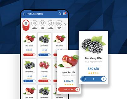 UI / UX Online Grocery Shop