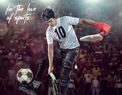 FOR THE LOVE OF SPORTS