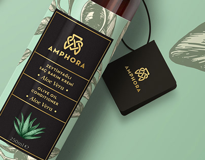 """Amphora"" Branding & Packaging"