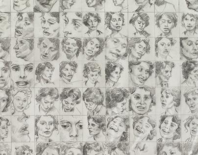 Movie faces