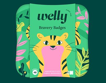 Welly Bravery Bandages