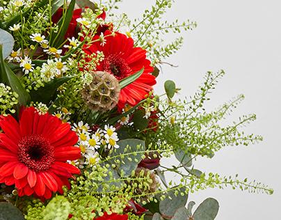 Sesión de fotografía para floristería #SanValentin