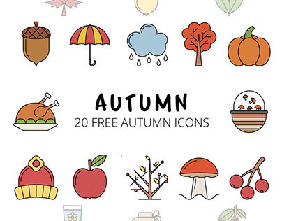 Autumn Vector Free Icon Set
