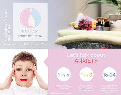 BLOOM, Design for Anxiety - Posters