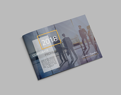 Company Profile Brochure Design