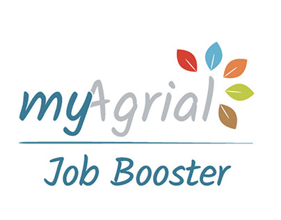 """Logo outil extranet/intranet """"My Agrial Job Booster"""""""