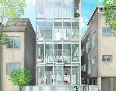 Study 07 Apartment 1 by Kumiko Inui