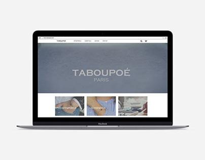 Refonte du site web Taboupoé