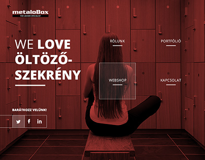 Metalobox - RWD corporate site & webshop