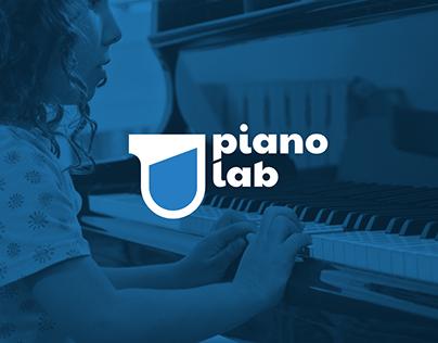 PIANO LAB Identity for music school for children