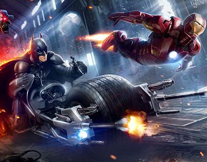 BATMAN & IRON MAN