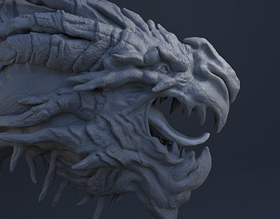 Proyecto Personal, Dragon 3D