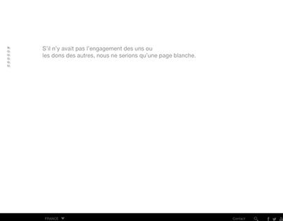 SITE WEB Medecins sans Frontières France