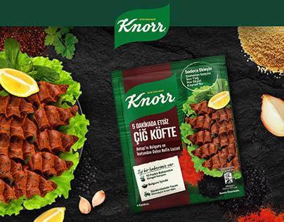 """Knorr TR / Turkish """"Çiğ Köfte"""" Meal Maker"""