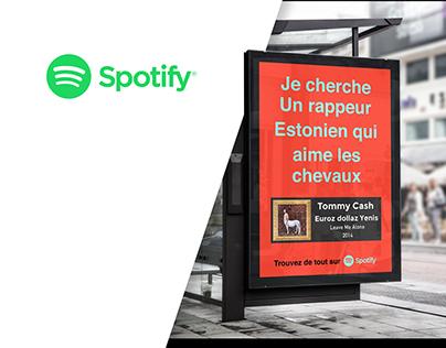 Campagne Spotify