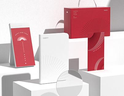 OPPO NEW YEAR GIFT BOX DESIGN丨OPPO 2021年品设计