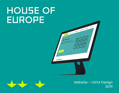 House of Europe Website