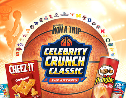 Celebrity Crunch Classic: Slam Dunk Promotion Design