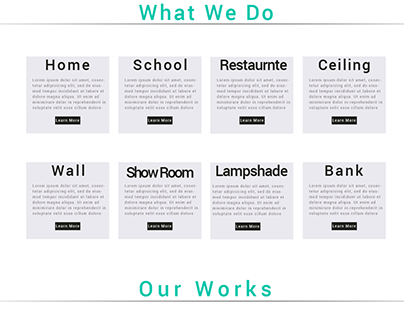 Replica of a landing page