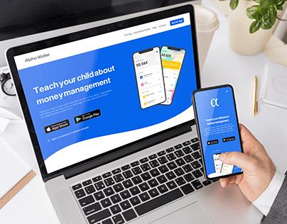 Alpha_Wallet Site Presentation