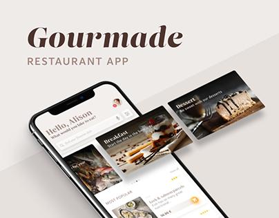 Gourmade - Restaurant App