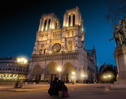 Bright Colors of Paris