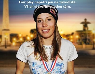 Czech Olympic Committee Print - Radio - Online video