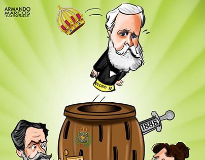 Cartoon Proclamação da República