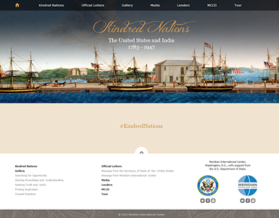 Kindred Nations, exhibition website