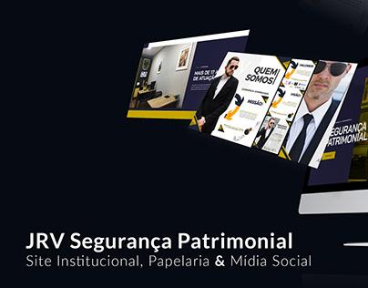 JRV Segurança Patrimonial - Site - Social Media