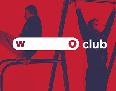 WO CLUB / Identity for workout community