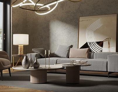 Dark Livingroom
