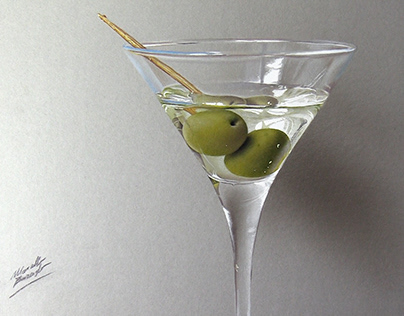 Martini Drawing