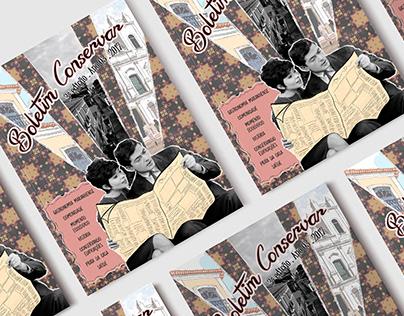 Boletim Conservar | Criação e elaboração de revista