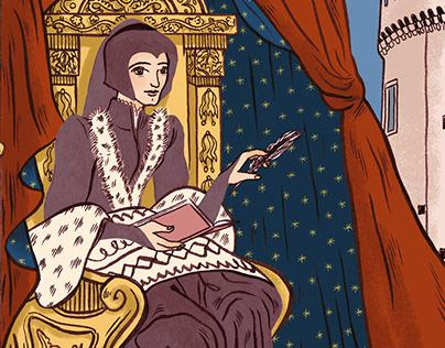 Illustration - Marguerite de Valois Angoulême