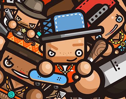 simple avatars for Gamepix