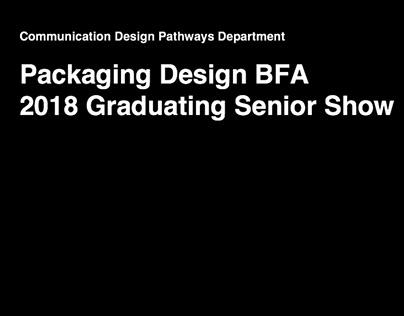 PK BFA 2018 Graduating Senior Show