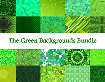 The Green Backgrounds Bundle