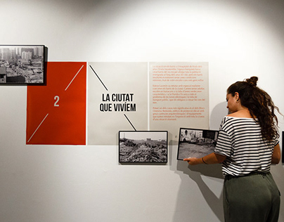 """Barri i lluita"". Exhibition design"