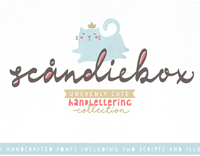 Scandiebox Handlettering Collection