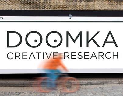 Identity for DOOMKA creative agency
