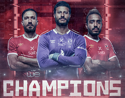 "AL AHLY SC - ""The Champions"" Design"