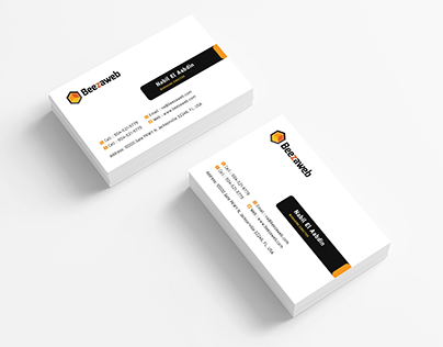 Business Cards Design for  CEO of Beezaweb