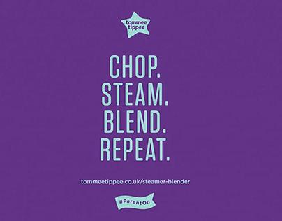 Tommee Tippee - Steamer Blender