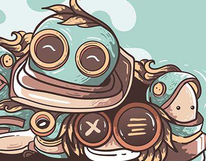 Astronout bubblegum