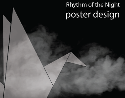 Rhythm of the Night - Poster Design