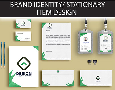 Brand Identity or sationary Desigm